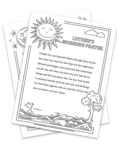 Reformation Coloring Pages
