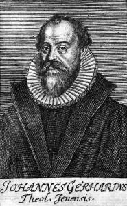 Johann Gerhard, theologian at Jena
