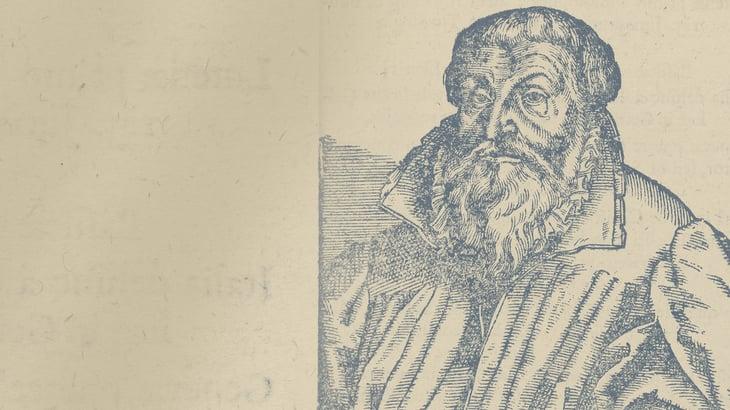 A printed image of Martin Chemnitz