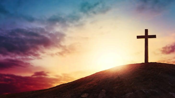 sunrise-behind-cross