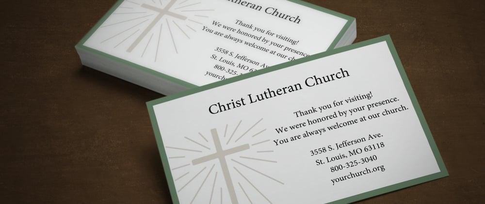 church-card