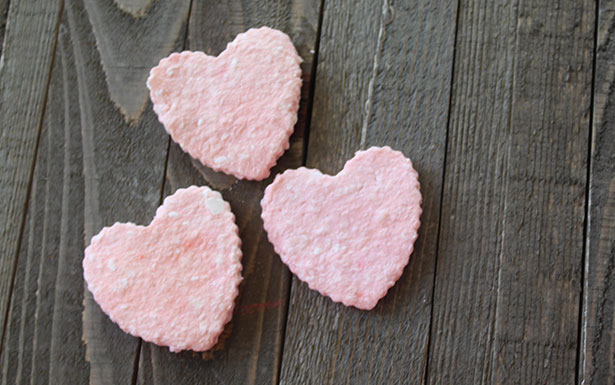Mother's Day Crafts - Loving-Heart Soap