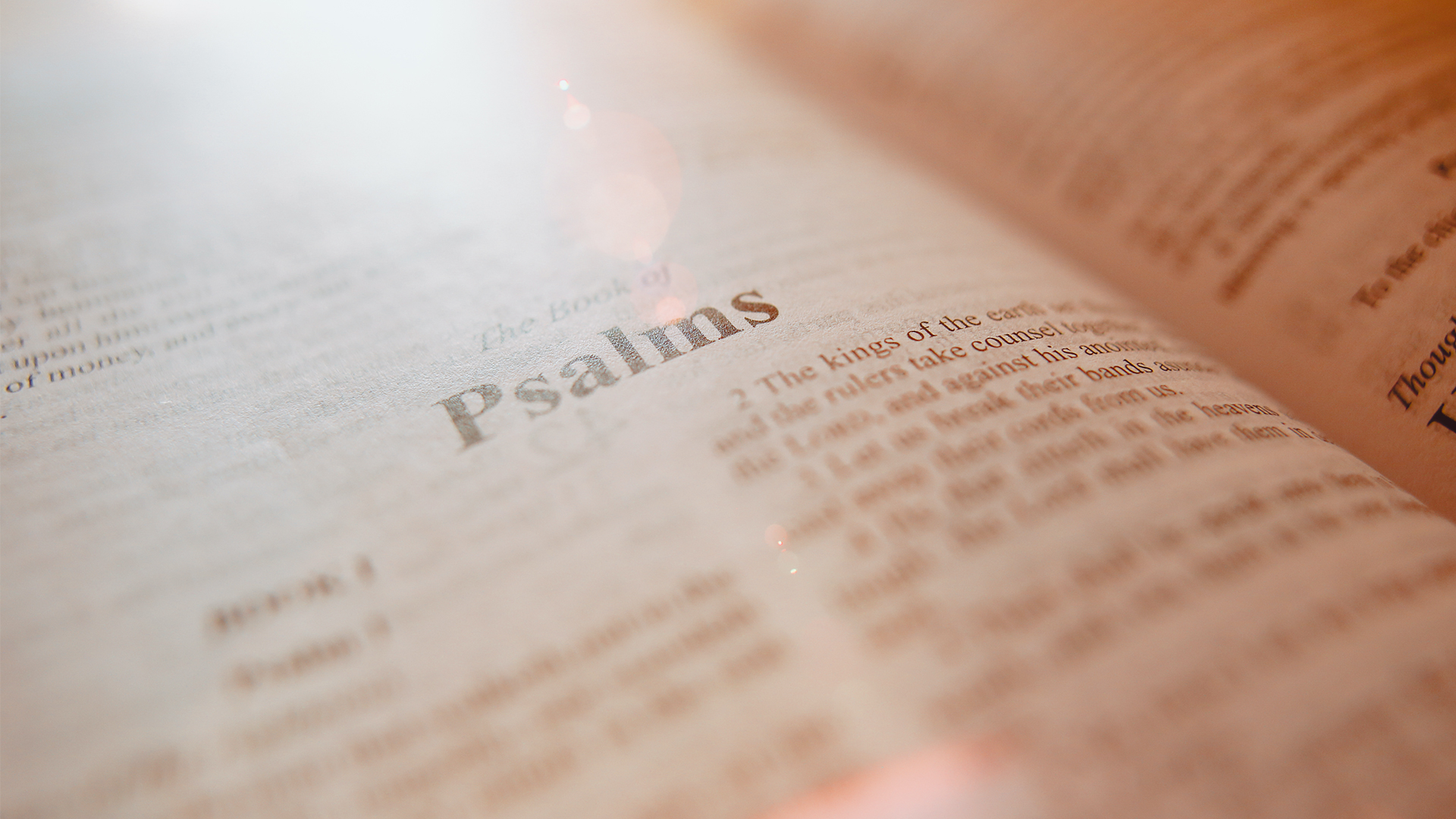 The Psalms in Christian Worship